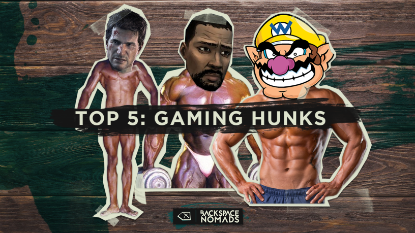 Top 5 Gaming Hunks